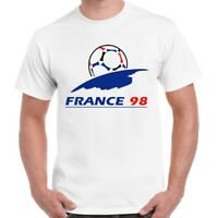 World Cup France 98 Classic Football Logo Ideal Gift Retro T Shirt 605