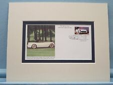 Saluting the Chevy Corvette & First day Cover of the 1953 Chevy Corvette stamp