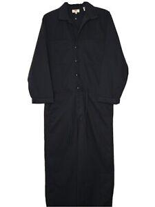 Levis Women's Size Large Utility Jumpsuit Rosie Cotton Black NWT MSRP $89.50