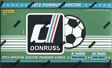 Donruss Soccer 2015 Factory Sealed Trading Card Hobby Box