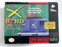 RARE! X-Band Video Game Modem w/ Box SUPER NINTENDO SNES
