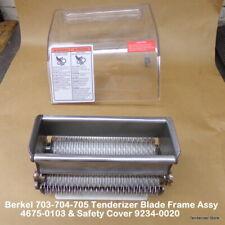 Berkel 703 704 705 Tenderizer Blade Frame Assy 4675 0103 Amp Safety Cover 9234 002