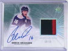 2011-12 SP Authentic Limited Derick Brassard autograph auto patch #D10/25 *68681