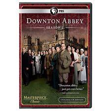 PBS Masterpiece Downton Abbey: Season 2 DVD, 2012, 3-Disc Set USED VGC FREE SHIP