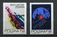 35846) Poland 1972 MNH 50th Anniversary of The Soviet Union