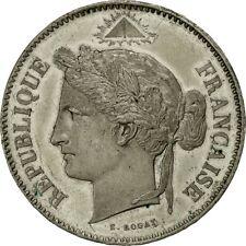 [#482837] Monnaie, France, Concours de Rogat, 5 Francs, 1848, ESSAI, TTB+, Tin