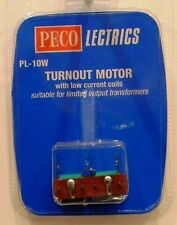 NIB HO/N Peco PL10W Turnout Motor w/Low Current Coils