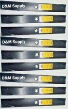 "Set of 9 heavy duty XHT 48"" mower blades to fit  Dixon Husqvarn 539113425"