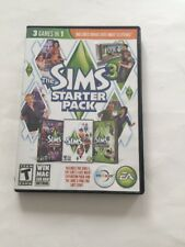 THE SIMS 3 STARTER PACK - 3 GAMES IN 1 - WINDOWS/MAC SOFTWARE 3 DISCS