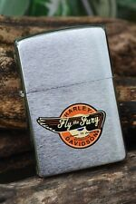 Zippo Lighter -  Harley Davidson - HD Fly the Fury - Eagle Wing - 200HD H202