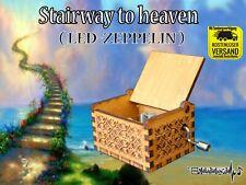 Led-Zeppelin Stairway to heaven Spieluhr Musicbox Neu Fanartikel Best of