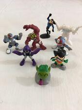 """Fun Mixed Lot DC COMICS 8 Miniature Figures 1"""" - 2"""""""