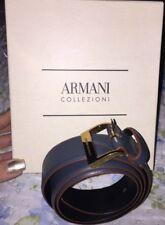 cintura giorgio armani color azzurro grigio nuova con scatola taglia 42 donna