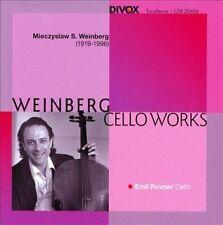 MIECZYSLAW WEINBERG - MIECZYSLAW WEINBERG: CELLO WORKS - NEW MINT SEALED CD!!