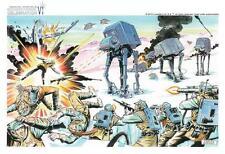 ACME STAR WARS Celebration VI Art Print Carlos Garzon Battle of Hoth ACME rare