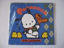 Sanrio Pochacco Dog 1996 Calendar Vintage 1989, 1995 New