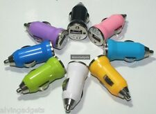 Micro USB Car Charger For iPhone 4/5/6  iPod Nano 7,iPod Touch 2/3/4/5 (White)