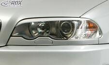 RDX Scheinwerferblenden BMW E46 Coupe / Cabrio -2003 Böser Blick Blenden