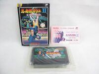NINJA RYUKENDEN II 2 Free Shipping Famicom Nintendo Import JAPAN Game fc