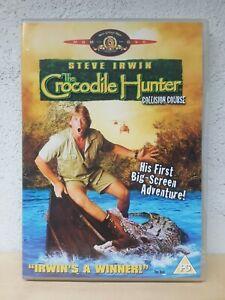 The Crocodile Hunter DVD REGION 2 UK - Collision Course Steve Irwin