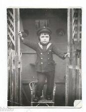 C481 Photo vintage originale Enfant children déguisement Marin