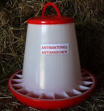 7 kg Futterautomat Hühner ANTIBAKTERIELL Futterspender Küken Wachtel Hühner