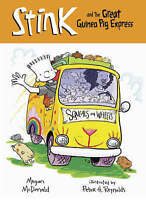 Stink and the Great Guinea Pig Express by Megan McDonald, Good Used Book (Paperb