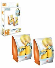 DESPICABLE ME MINION ARM BANDS Swimming Aids Inflatables Pool Beach Sea Holiday