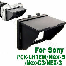 LCD Pop-Up Screen Hood Cover Protector for Sony Alpha NEX-5 NEX-3 NEX-C3