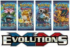 Pokemon TCG: XY12 Evolutions Booster Packs x4 :: All 4 Types :: Brand New And Se