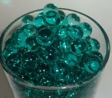 Teal Water Storing Gel Beads Centerpiece Party Vase Fillers