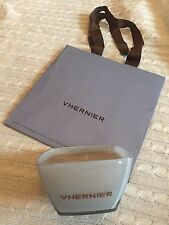 Limited Edition VHERNIER Candle in Collectible Square Glassware