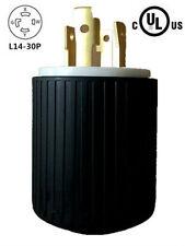 UL Listed Generator Power Locking NEMA L14-30P Twist-Lock Plug 30A 125/250V,3P4W