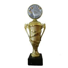 Sport-Pokal mit Wunschgravur//Emblem 54730-1 rot//silber
