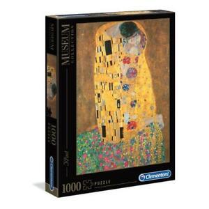 puzzle Clementoni 1000 pezzi KLIMT - IL BACIO 69 X 50 31442 + OMAGGIO