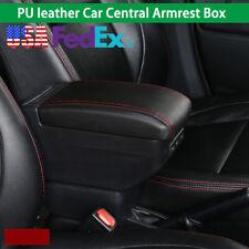 Car Armrest Center Console Handrails Box Storage Universal 9* USB Charge Port