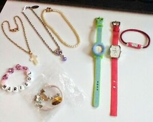 AMERICAN GIRL DOLL Lot NECKLACES, TWO(2) WRISTWATCHES, BRACELETS Excellent!
