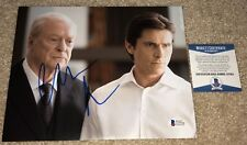 CHRISTIAN BALE SIGNED 8X10 PHOTO BATMAN DARK KNIGHT ALFRED MICHAEL CAINE BAS