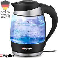 Mueller Premium 1500W Electric Kettle with SpeedBoil Tech, 1.8 Liter Cordless wi