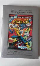 Marvel Masterworks: Luke Cage, Power Man Vol. 3 (Inglés) Tapa dura