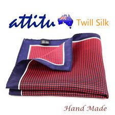 Twill Silk Vintage Men Pocket Square Handkerchief ATTITU Nibiru Series
