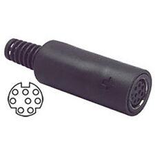 Mini 8 Pin DIN Female In-Line Jack