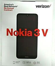 VERIZON NOKIA 3 V - Prepaid Smartphone 16GB World Device Cellphone BRAND NEW