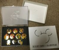 Disney 10th Anniversary of Disney Channel pin box set Limited Edition