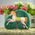 Cute Silicone Carousel Horse Fondant Mold Cake Decor Chocolate Gum Baking Mould
