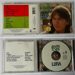 GIANNI TOGNI - LUNA - CD USATO - FUORI CATALOGO