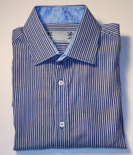 ENGLISH LAUNDRY MULTI COLOR STRIPED L/S FINE COTTON DRESS SHIRT. EL6245A1