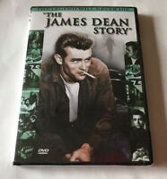 """The James Dean Story (DVD, 2001) THE LEGEND WILL NEVER DIE!  """"NEW"""""""