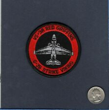 VS-38 RED GRIFFONS US Navy Lockheed S-3 VIKING Squadron Bullet Jacket Patch