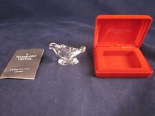 WATERFORD 12 Days 1996 2nd ED Turtle Dove Christmas Ornament ~ EXCELLENT BOX
